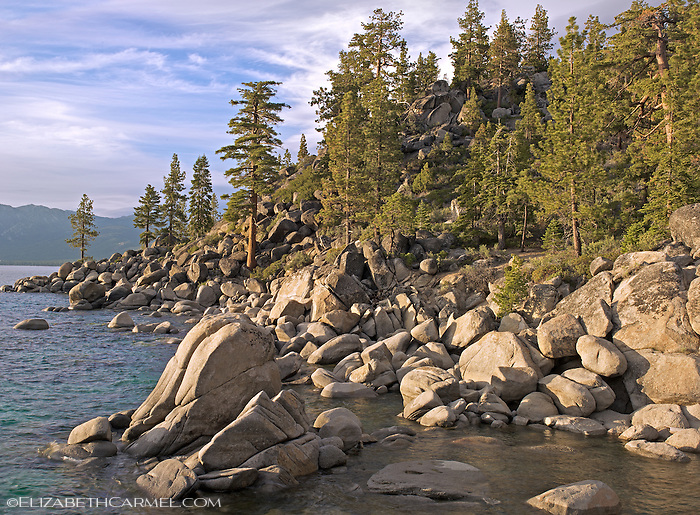 Summer Evening, Lake Tahoe
