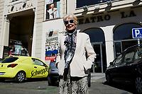 Concha Velasco attends to 'El Funeral' presentation at La Latina Theatre in Madrid, Spain. October 03, 2018. (ALTERPHOTOS/A. Perez Meca) /NortePhoto.com NORTEPHOTOMEXICO
