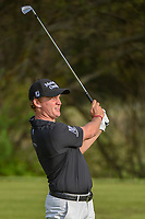 Bud Cauley (USA) watches his tee shot on 7 during day 2 of the Valero Texas Open, at the TPC San Antonio Oaks Course, San Antonio, Texas, USA. 4/5/2019.<br /> Picture: Golffile | Ken Murray<br /> <br /> <br /> All photo usage must carry mandatory copyright credit (&copy; Golffile | Ken Murray)