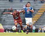 Deportes Tolima venció 1-0 a Millonarios.Fecha 17 Liga Águila I-2018.