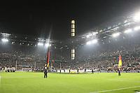 Innenraum des RheinEnergie Stadion vor Spielbeginn - WM Qualifikation 9. Spieltag Deutschland vs. Irland in Köln