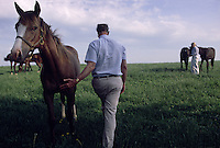 Arthur Hancock and his wife Staci own Stone Farm in Paris, Kentucky, which bred Kentucky Derby winners Gato Del Sol, Sunday Silence and Fusaichi Pegasus. Both are on the frontline of the equine welfare/anti slaughter movements and highly involved in the new Kentucky Equine Humane Center (KEHC) which is getting ready to open its doors to a waiting list of horses who are in immediate need of shelter.