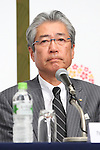IOCTsunekazu Takeda, <br /> APRIL 4, 2014 : Joint press conference in The Tokyo Organizing Committee of the Olympic and Paralympic Games (TOCOG) members and IOC committee members was held in the Shinagawa Prince Hotel in Tokyo, Japan. (Photo by AFLO SPORT)