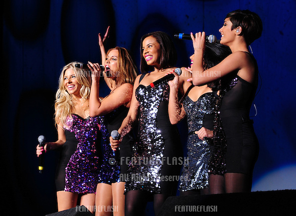The Saturdays at the LG Arena in Birmingham as part of the BRMR Music evening.  27/11/2010  Picture by: Simon Burchell / Featureflash.