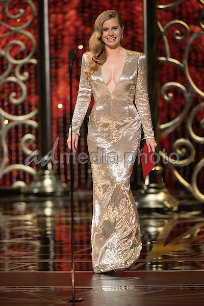 26 February 2017 - Hollywood, California - Amy Adams. 89th Annual Academy Awards presented by the Academy of Motion Picture Arts and Sciences held at Hollywood & Highland Center. Photo Credit: AMPAS/AdMedia