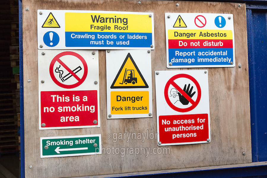 Waring Signs - Health & Safety