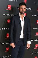 "Hugo Silva attend the Premiere of the movie ""Musaranas"" in Madrid, Spain. December 17, 2014. (ALTERPHOTOS/Carlos Dafonte) /NortePhoto /NortePhoto.com"