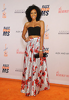 15 April 2016 - Beverly Hills, California - Annie Ilonzeh. Arrivals for the 23rd Annual Race To Erase MS Gala held at Beverly Hilton Hotel. Photo Credit: Birdie Thompson/AdMedia