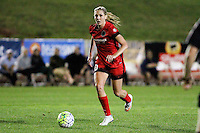 Piscataway, NJ - Sunday Sept. 25, 2016: Allie Long during a regular season National Women's Soccer League (NWSL) match between Sky Blue FC and the Portland Thorns FC at Yurcak Field.