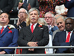 Arsenal majority shareholder Stan Kronke during the Emirates FA Cup Final match at Wembley Stadium, London. Picture date: May 27th, 2017.Picture credit should read: David Klein/Sportimage