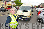 Mike Shanahan driver for the Kerry flyer in Castleisland.