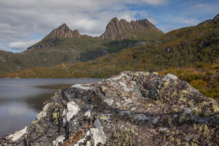The trail around Dove Lake in Cradle Mountain NP is a favorite with the park's visitors