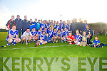St Mary's Cahersiveen are the South Kerry League Champions after defeating Waterville 0-14 to 0-7 on Saturday last.