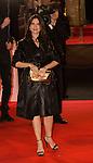 France, Géraldine Pailhas arrive à la cérémonie des César 2014, Paris, Théatre du Chatelet