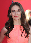 Alison Brie attends The Warner Bros' Pictures L.A. Premiere of The Lego Movie held at The Regency Village in Westwood, California on February 01,2014                                                                               © 2014 Hollywood Press Agency