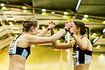 18.02.2018,  Helmut-K&ouml;rnig-Halle, Dortmund, GER, Deutsche Leichtathletik Meisterschaften Dortmund 2018, <br /> <br /> im Bild | picture shows:<br /> Christina Hering (LG Sta. M&uuml;nchen) gewinnt das Finale der 800m der Frauen, Tanja Spill (LAV Uerdingen) gratuliert, <br /> <br /> Foto &copy; nordphoto / Rauch