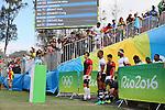 Yusaku Kuwazuru (JPN), <br /> AUGUST 11, 2016 - / Rugby Sevens : <br /> Men's Semi-final <br /> between Fiji 20-5 Japan <br /> at Deodoro Stadium <br /> during the Rio 2016 Olympic Games in Rio de Janeiro, Brazil. <br /> (Photo by YUTAKA/AFLO SPORT)