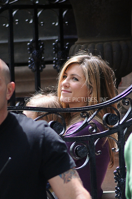 WWW.ACEPIXS.COM . . . . .  ....May 13 2009, New York City....Actress Jennifer Aniston was on the Brooklyn set of the new movie 'The Baster' on May 13 2009 in New York City.....Please byline: AJ Sokalner - ACEPIXS.COM..... *** ***..Ace Pictures, Inc:  ..tel: (212) 243 8787..e-mail: info@acepixs.com..web: http://www.acepixs.com