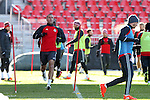 09 December 2016: Toronto's Benoit Cheyrou (FRA). Toronto FC held a training session one day before playing in MLS Cup 2016 at BMO Field in Toronto, Ontario in Canada.