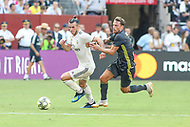 Landover, MD - August 4, 2018: Real Madrid forward Gareth Bale (11) tries to get the ball during the match between Juventus and Real Madrid at FedEx Field in Landover, MD.   (Photo by Elliott Brown/Media Images International)