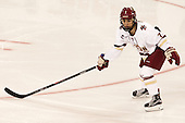 Kristyn Capizzano (BC - 7) - The Boston College Eagles defeated the visiting UConn Huskies 4-0 on Friday, October 30, 2015, at Kelley Rink in Conte Forum in Chestnut Hill, Massachusetts.