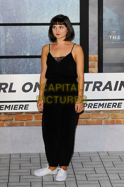 LONDON, ENGLAND - SEPTEMBER 20: Ruby Bentall attending 'The Girl On The Train' World Premiere at Odeon Cinema, Leicester Square on September 20, 2016 in London, England.<br /> CAP/MAR<br /> &copy;MAR/Capital Pictures