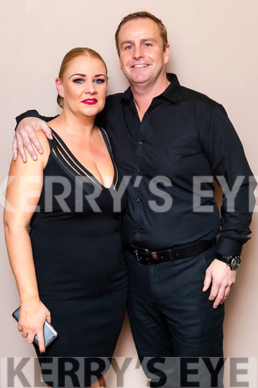 Karen O'Connor (Sean Ógs) and Brendan Dillane (Bród) winners of the John Mitchels GAA 'Strictly Come Dancing' at Ballygarry House Hotel on Sunday night.