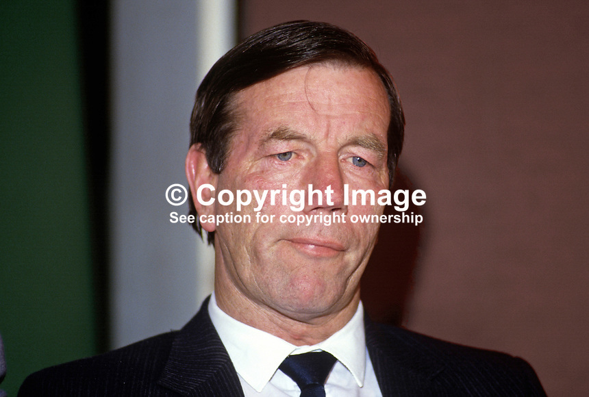 Paul Corrigan, prominent member, Provisional Sinn Fein, N Ireland, 19870603PC.<br />