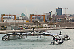 Alinghi 5 reaches final destination in Valencia's Port America's Cup
