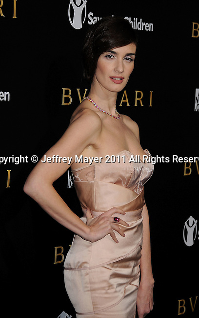 LOS ANGELES, CA - January 13: Paz Vega attends Save The Children's U.S. Programs And Artists For Peace And Justice Hosted By Bulgari at Ron Burkle's Green Acres Estate on January 13, 2011 in Beverly Hills, California.