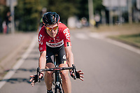 """look mum ,(almost) no hands!"" by Lars Bak (DEN/Lotto-Soudal)<br /> <br /> 98th Brussels Cycling Classic 2018<br /> One Day Race:  Brussels > Brussels (201km)"