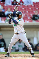 April 17 2010: Jean Segura of the Cedar Rapids Kernels at Elfstrom Stadium in Geneva, IL. The Kernels are the Low A affiliate of the Los Angeles Angels. Photo by: Chris Proctor/Four Seam Images