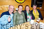 Enjoying the evening in the Greyhound bar on sunday night<br /> L to r: John and Geraldine O'Shea, Jimmy Tobin and Ann Leahy O'Shea.