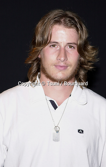 "Brendan Fehr - Roswell -  arriving at the "" N'Sync and Jive Records party "" at the Moomba in Los Angeles. July 23, 2001    © TsuniFehrBrendan_Roswell05.jpg"