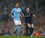 Kyle Walker of Manchester City and Leighton Baines of Everton during the Premier League match at the Eithad Stadium, Manchester. Picture date 21st August 2017. Picture credit should read: Simon Bellis/Sportimage