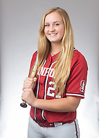 Stanford, CA - January 14, 2016.  Stanford Softball portraits.