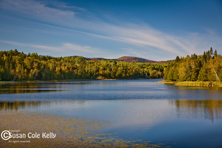 Fall colors Rangeley Lake, Maine Lakes and Mountains, ME