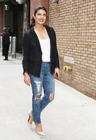 NEW YORK, NY - APRIL 17: Priyanka Chopra seen in New York City on April 17,  2017.<br /> CAP/MPI/RW<br /> &copy;RW/MPI/Capital Pictures