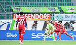 0:2 Tor, v.l. John Anthony Brooks (Wolfsburg), Torschuetze Mickael ''Michael'' Cuisance (Bayern), Kingsley Coman<br />Wolfsburg, 27.06.2020: nph00001: , Fussball Bundesliga, VfL Wolfsburg - FC Bayern Muenchen<br />Foto: Tim Groothuis/Witters/Pool//via nordphoto<br /> DFL REGULATIONS PROHIBIT ANY USE OF PHOTOGRAPHS AS IMAGE SEQUENCES AND OR QUASI VIDEO<br />EDITORIAL USE ONLY<br />NATIONAL AND INTERNATIONAL NEWS AGENCIES OUT