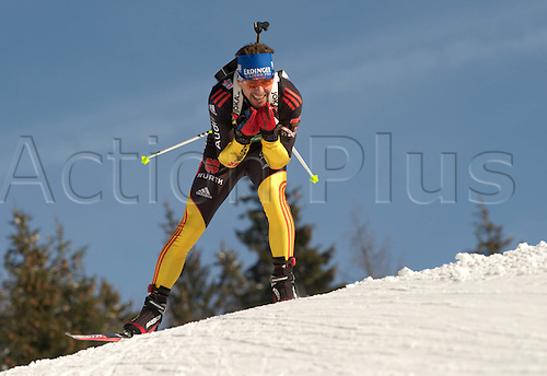 09.12.2011, Hochfilzen, Austria. The IBU Biathlon men's 10km Sprint Greis Michael ger Biathlon World Cup