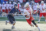 College Park, MD - March 18, 2017: Maryland Terrapins Colin Heacock (2) in action during game between Villanova and Maryland at  Capital One Field at Maryland Stadium in College Park, MD.  (Photo by Elliott Brown/Media Images International)
