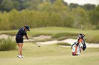 SAN ANTONIO, TX - OCTOBER 28, 2014: The University of Texas at San Antonio Roadrunners Women's Golf Team competes in the Alamo Invitational Golf Tournament at the Briggs Ranch Golf Club. (Photo by Jeff Huehn)