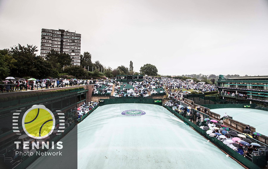 AMBIENCE<br /> <br /> The Championships Wimbledon 2014 - The All England Lawn Tennis Club -  London - UK -  ATP - ITF - WTA-2014  - Grand Slam - Great Britain -  28th June 2014. <br /> <br /> © Tennis Photo Network