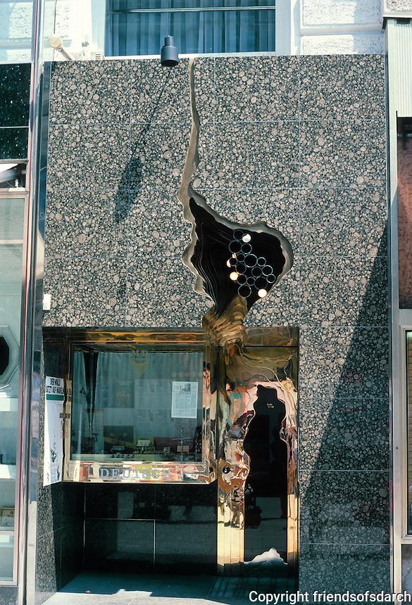 Hans Hollein: Schullin's Jewelers 1974. Graben 7, Vienna.