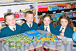 Seeing double at Nagle/Rice NS Milltown on Wednesday are twins James and Gearoid Prendergast and Emma and Alice Casey