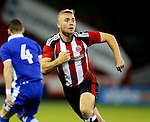 Connor Hall of Sheffield Utd during the U23 Professional Development League match at Bramall Lane Stadium, Sheffield. Picture date: September 6th, 2016. Pic Simon Bellis/Sportimage