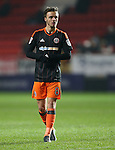 Sheffield United's Stefan Scougall in action during the League One match at the Valley Stadium, London. Picture date: November 26th, 2016. Pic David Klein/Sportimage