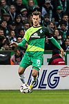 10.02.2019, Weserstadion, Bremen, GER, 1.FBL, Werder Bremen vs FC Augsburg<br /> <br /> DFL REGULATIONS PROHIBIT ANY USE OF PHOTOGRAPHS AS IMAGE SEQUENCES AND/OR QUASI-VIDEO.<br /> <br /> im Bild / picture shows<br /> Sebastian Langkamp (Werder Bremen #15), <br /> <br /> Foto &copy; nordphoto / Ewert