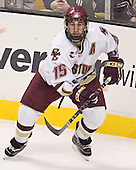 Stephen Gionta - The Boston College Eagles defeated the Northeastern University Huskies 5-2 in the opening game of the 2006 Beanpot at TD Banknorth Garden in Boston, MA, on February 6, 2006.