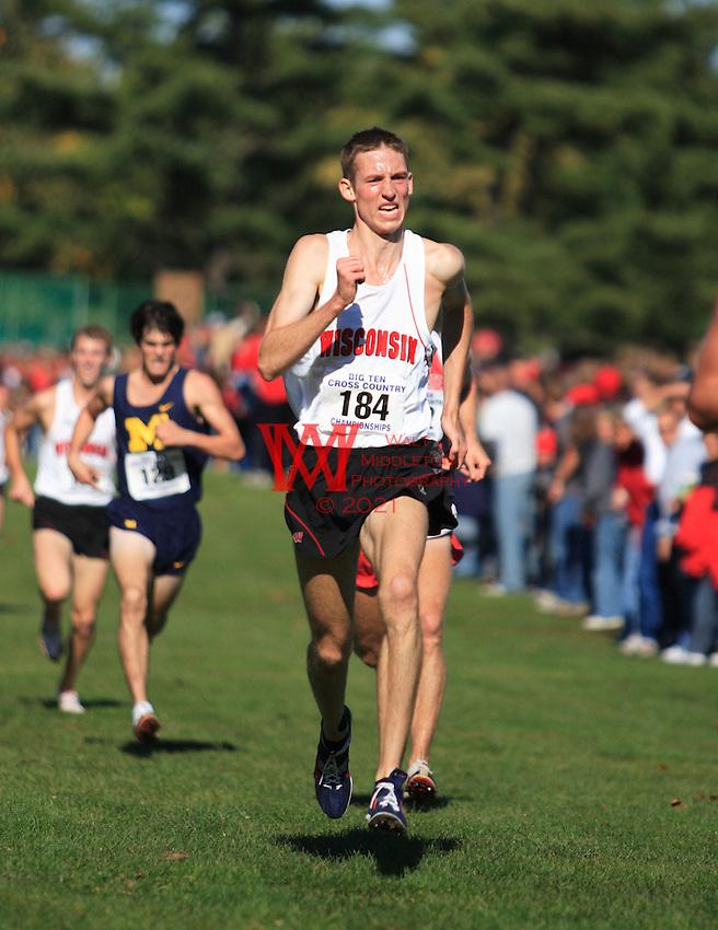 The Big Ten Men's Cross Country Championships, 10,28,2007. University Of Wisconsin.